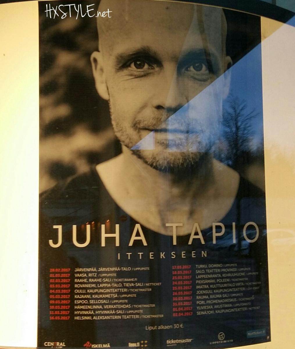 KULTTUURI. MUSIIKKI. LIVE KEIKKA...JUHA TAPIO -ITTEKSEEN Konserttikiertue IMATRA, Kulttuuritalo Virta (25.3.2017), Musikki LIVE ARVOSTELU, Artikkelisarja, Kirja, Musiikki. 29.3. SUOSIKKI. HXSTYLE.net HEINIS. Suosittu yli 18 krt
