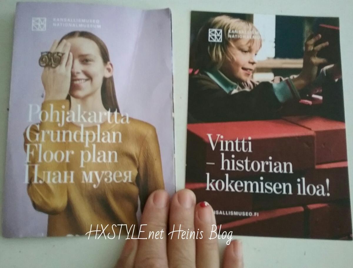 KULTTUURI. MUSEOT. SUOMEN KANSALLISMUSEO. 3/3 NÄYTTELYT; Perus- ja Vaihtuvat näyttelyt. PERUSNÄYTTELYT: 2. Kerros Esihistoria ja Valtakunta. 3. Kerros TYÖPAJA VINTTI 11.8.2017 Valokuvia HXSTYLE.net HEINIS