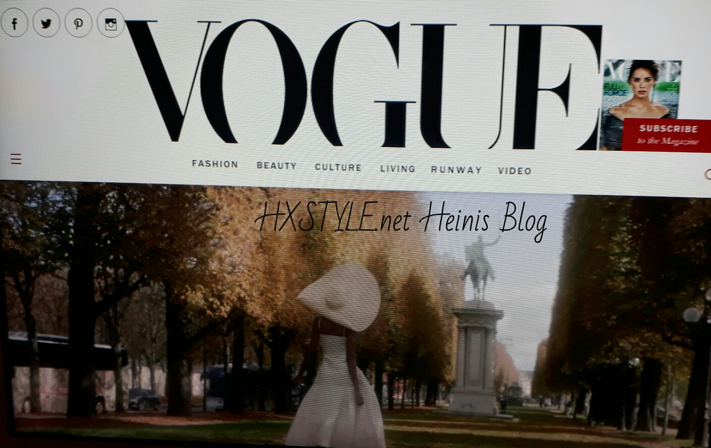 VOGUE NEWS&TRENDS. 17.10.2017 World Famous&Top People, Best Dressed, BEAUTY INSTAGRAMS, Best Looks from Paris HAUTE HALLOWEEN