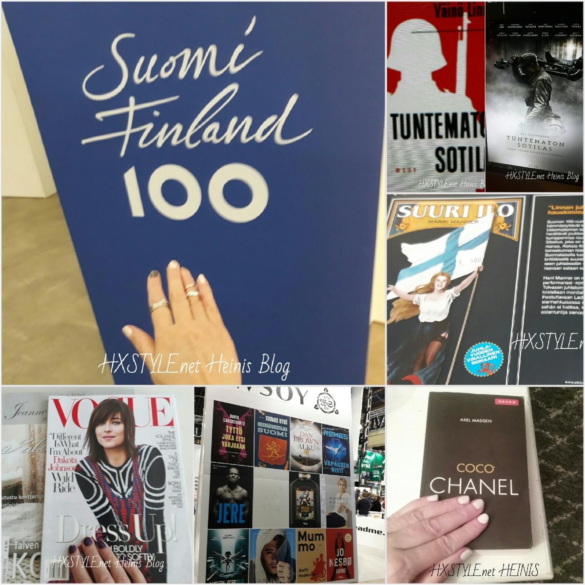 KULTTUURI, KIRJALLISUUS, KIRJAT, LEHDET... LUKEMINEN 22.1.2018 - 2017  UUTUUDET, SUOSITUT, TOP3, TOP10, Vinkit&Ideat, KIRJA ARVOSTELUT...1/2 SUOSITTU. HXSTYLE.net HEINIS Suosikit