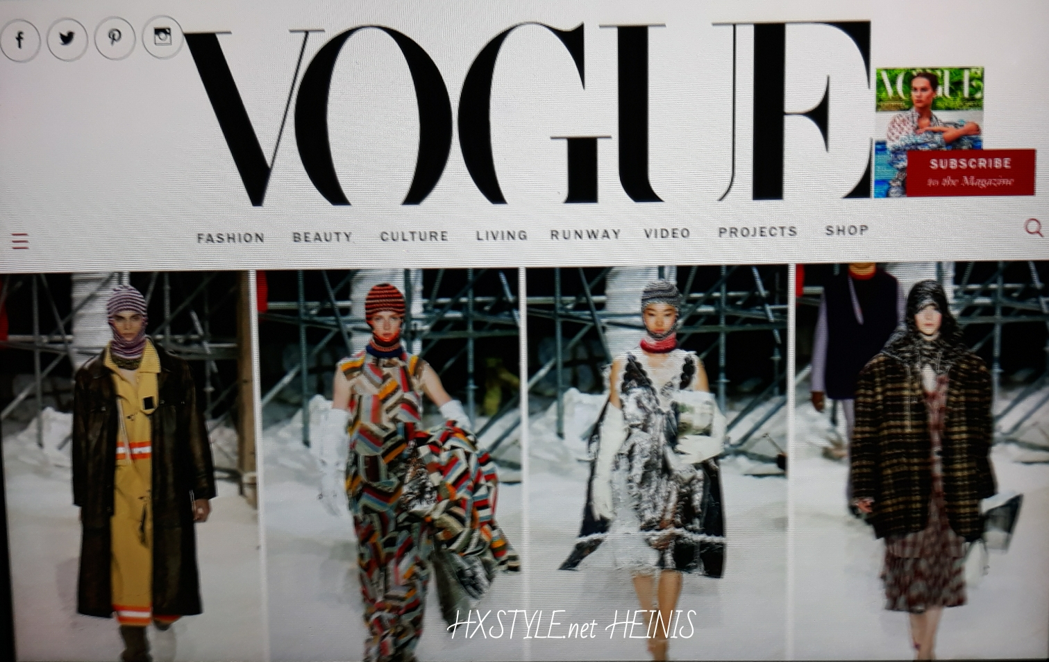 VOGUE NEWS&TRENDS. WORLD FASHION PHIL OH's STREET STYLES, Photos, Make Up Style, ENJOY Valentines Day, Vogue&Me since 2015 -15.2.2018, New York Times. Favourite… HXSTYLE.net HEINIS