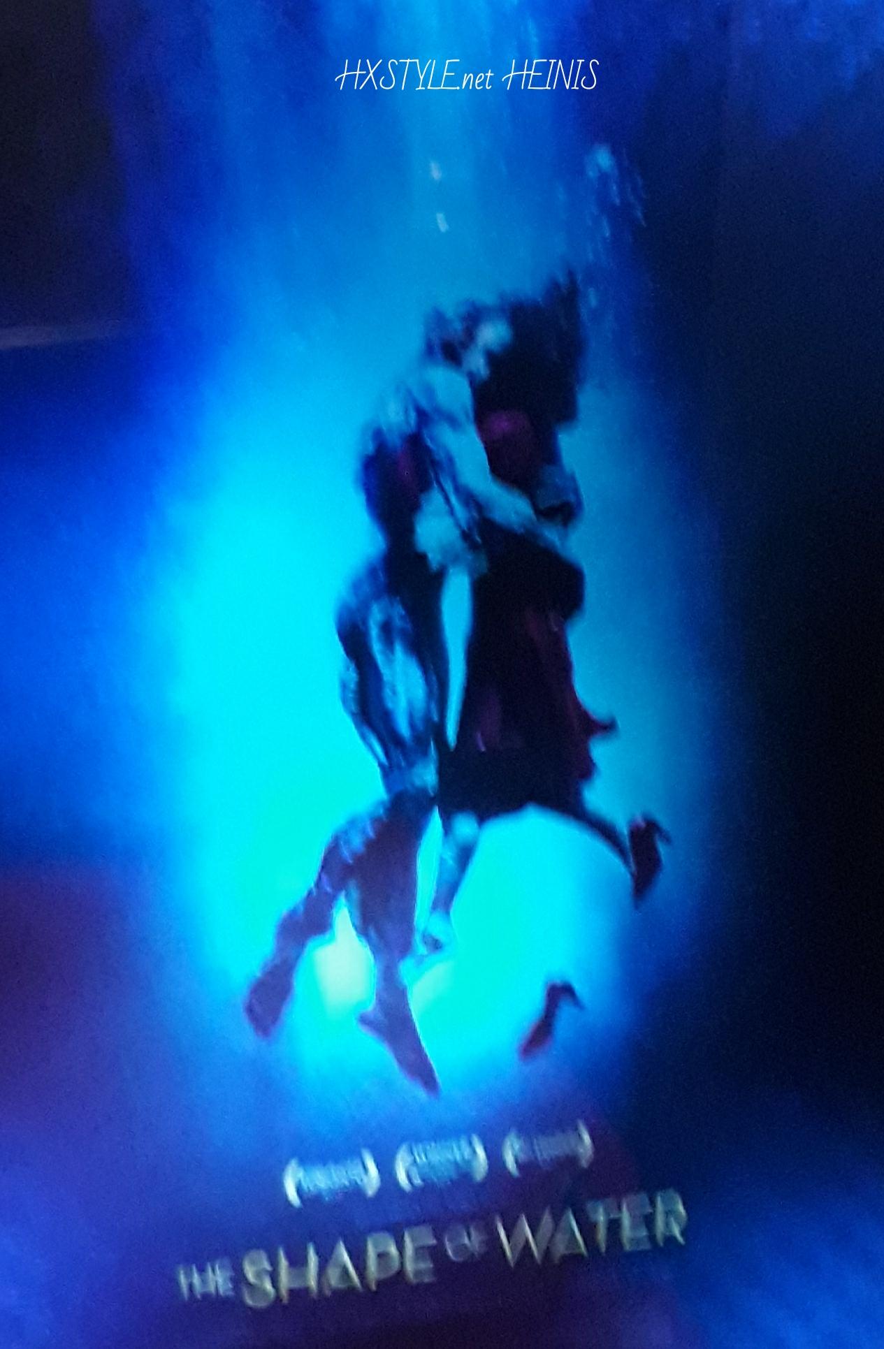 KULTTUURI. ELOKUVAT. ENSI-ILTA 9.2.2018. 2 GOLDEN GLOBE, 13 OSCAR EHDOKKUUTTA…THE SHAPE OF WATER -elokuva ARVOSTELU. 20.2.2018 HXSTYLE.net HEINIS