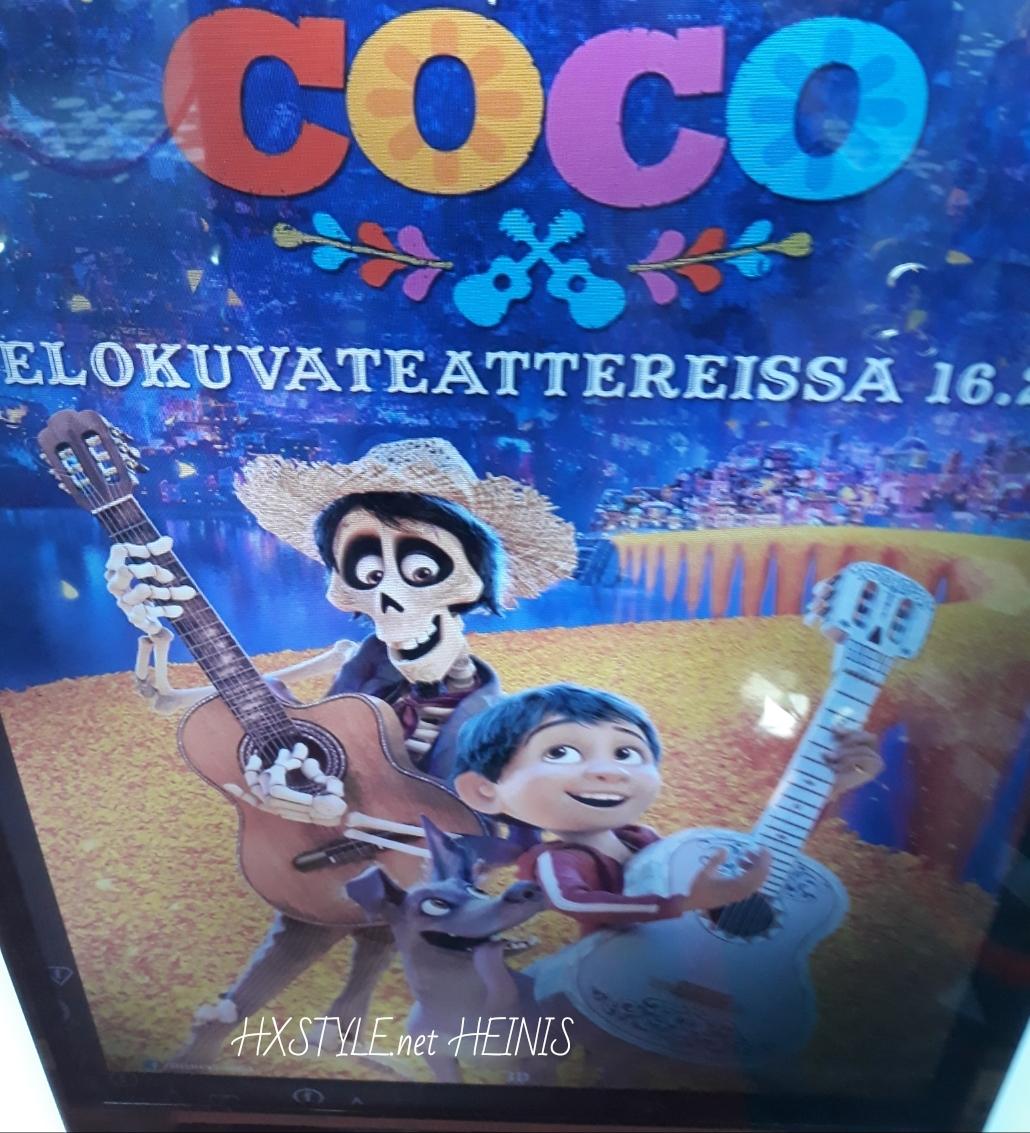 KULTTUURI. ELOKUVAT. ENSI-ILTA 16.2.2018…2. OSCARS ja 1. GOLDEN GLOBE. DISNEY&Pixar COCO – ANIMAATIO, Perhe, Musiikki elokuva ARVOSTELU. DISNEY&PIXAR LUETTELO&HISTORIA, Klassikot&Uutuudet. 18.3.2018 Omat Suosikit HXSTYLE.net HEINIS