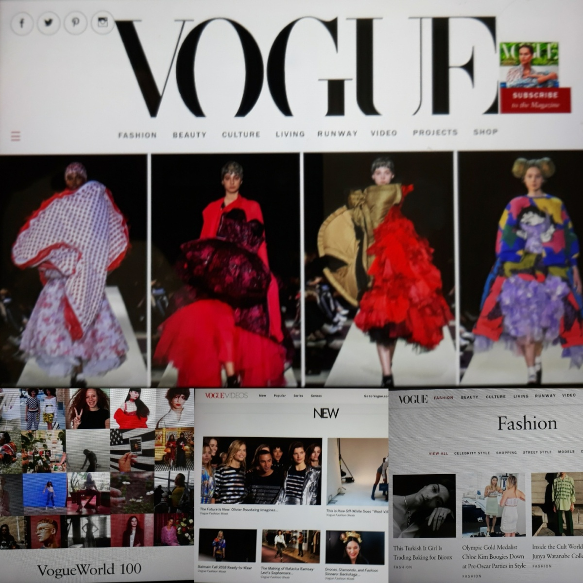 VOGUE NEWS&TRENDS. TOP&Famous People, VIDEOS, TOP 10 COLLECTIONS  FALL 2018, London&New York FASHION WEEK... 5.3.2018 HXSTYLE.NET HEINIS