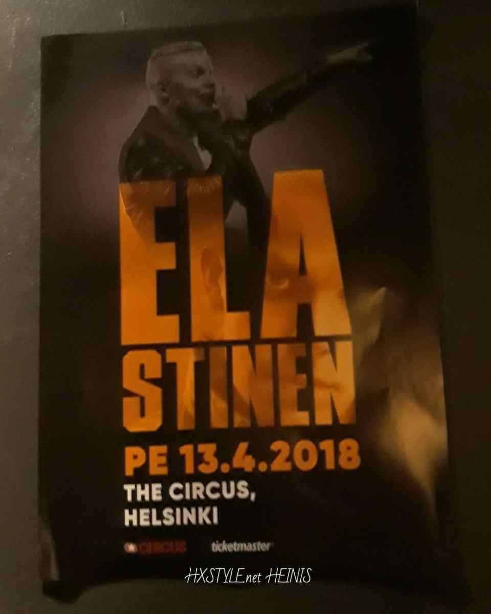 KULTTUURI&MUSIIKKI. SUOMI, Kotimainen RAP, HipHop MUSIIKKI. ELASTINEN, RÄHINÄ. Uusi Single JULKAISU;SUPERVOIMII... 13.4.2018&LIVE Keikka THE CIRCUS, Helsinki. KEIKKA ARVOSTELU. Lisäksi Aiemmat ARTIKKELISARJAT. Suosittu Blogissa. SUOSIKKI. 17.4.2018 HXSTYLE.net HEINIS