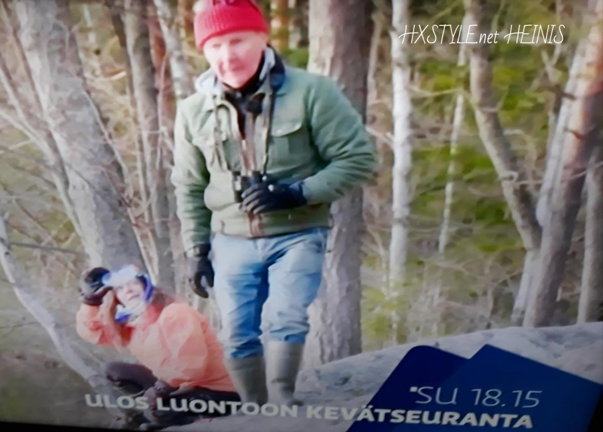 LUONTO&ELÄIMET. 1/5 YLE TV1 ULOS LUONTOON KEVÄT SEURANTA: Nyt Autetaan Luontoa...NUUKSIO Kansallispuisto, ESPOO. SUOMI/KOTIMAA. 3.5.2018  Elämäntapa&Suosikki. HXSTYLE.net HEINIS