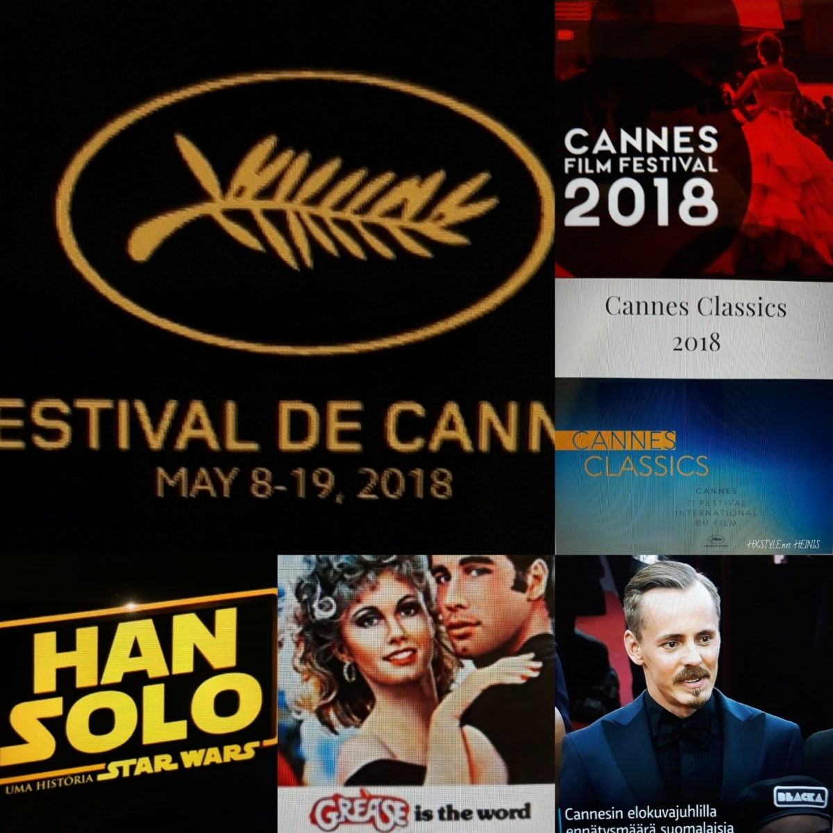 KULTTUURI/CULTURE ELOKUVAT&MOVIES. 71. CANNESIN ELOKUVAJUHLAT, Cannes Film Festival 8. – 19.5.2018, RANSKA. UUTISET, VOITTAJAT LISTA, Suomalaiset, Movie Trailers, Interviews, Movie People. Favourite HXSTYLE.net HEINIS
