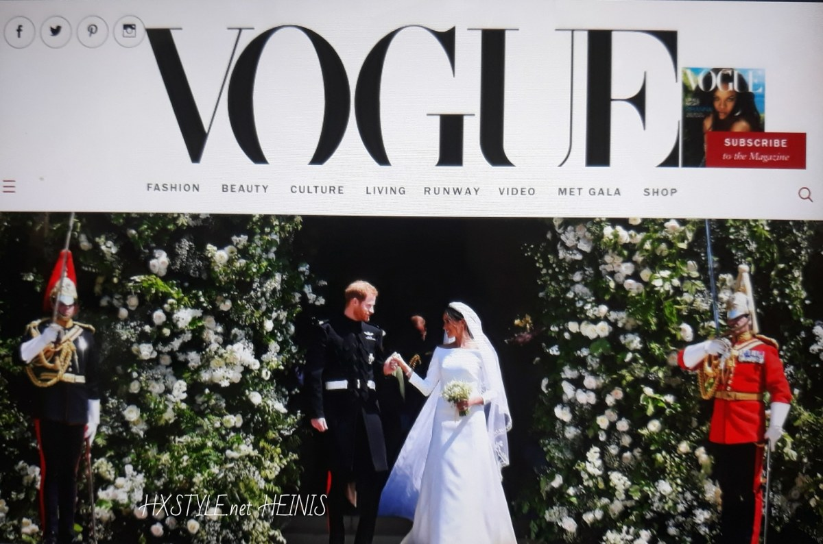 VOGUE NEWS&TRENDS. ENGLAND ROYAL FAMILY. PRINCE HARRY &Megan Markle 19.5.2018 ROYAL WEDDING&FASHION STYLES, Accessories, Invited Quests 600, PHOTOS...Windsor Castle. 22.5. Favourite. HXSTYLE.net HEINIS