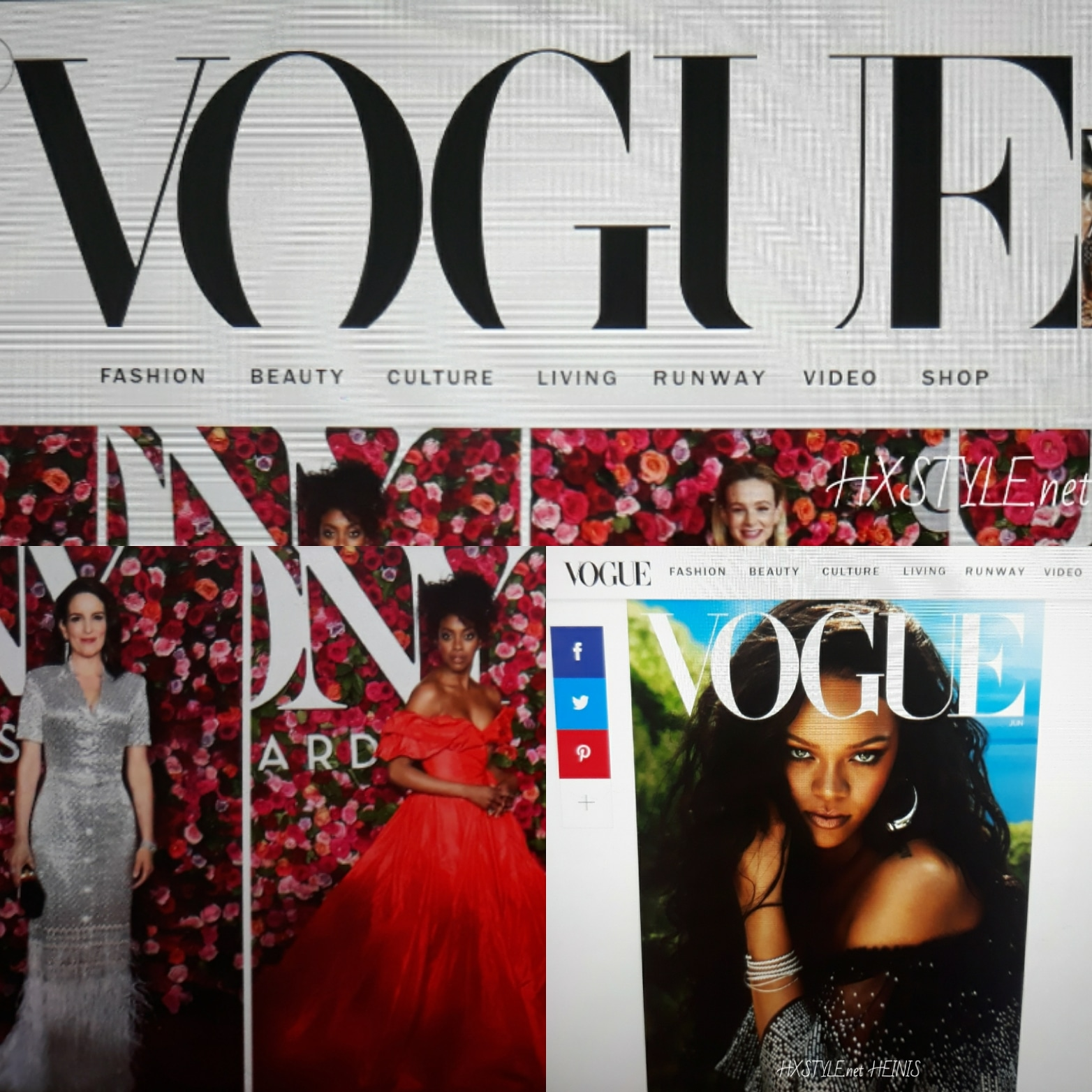 VOGUE&NEWS&TRENDS. TONY AWARDS, BEST FASHION, DRESSED, BEAUTY&VIDEOS…13.6.2018. HXSTYLE.net HEINIS
