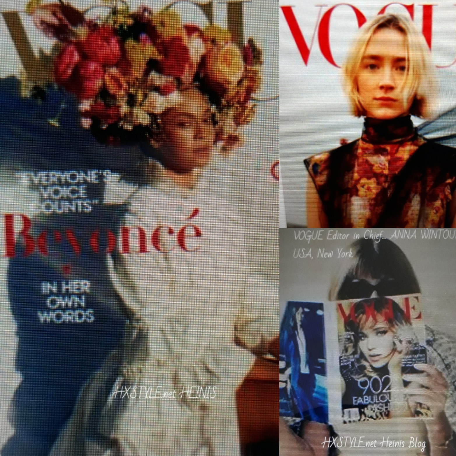 VOGUE NEWS&TRENDS. Anna Wintour: USA New York, Beyonce, BEST BEAUTY&Photos, New Videos…16.8.2018 Favourites&Life Style. HXSTYLE.net HEINIS