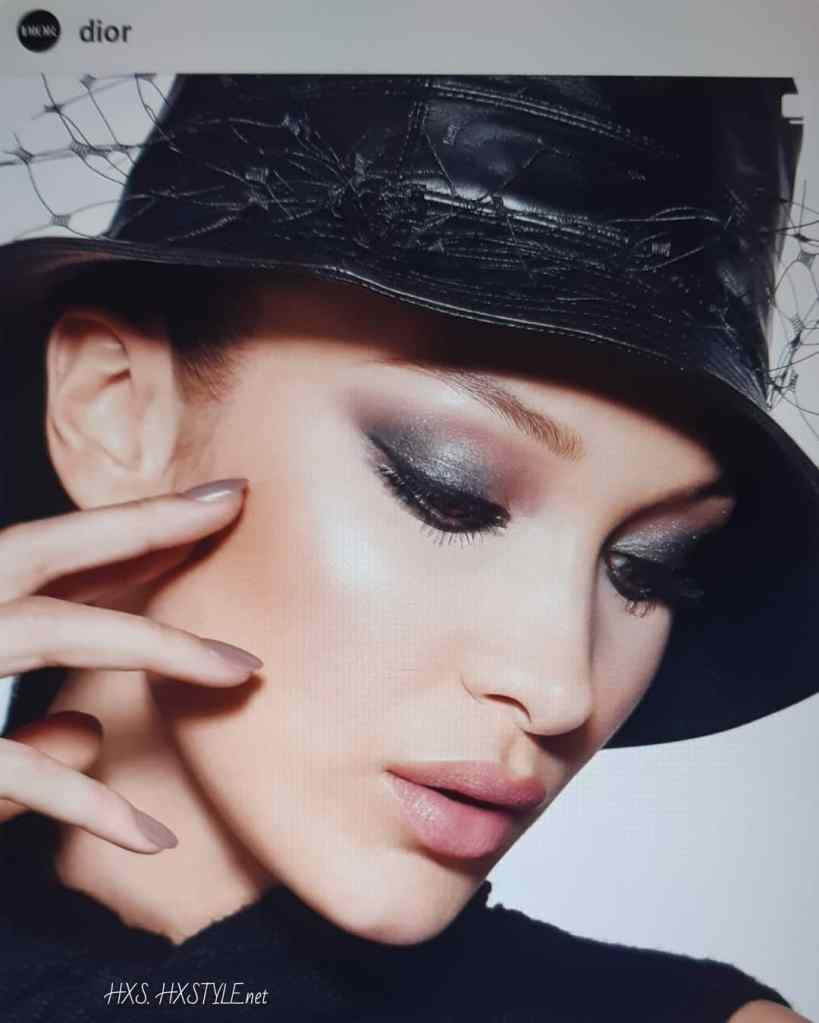 DIOR Beauty 2020...TOP Modell BELL HADID....Lovely Make Up, Smokeu Eyes and Style. SMILE